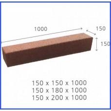 고무칩경계석/고무경계블럭/탄성 고무경계블록/일반형