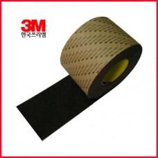 3M 논슬립테이프(100mmx18m)/3M미끄럼방지논슬립테이프/흑색,회색,밤색,녹색,노랑,적색