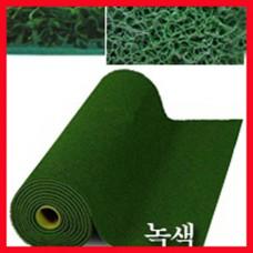 에코쿠션매트A-TYPE(내부용)10mm/흙먼지유입방지 및 미끄럼방지/녹색