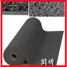 에코쿠션매트A-TYPE(내부용)10mm/흙먼지유입방지 및 미끄럼방지/회색