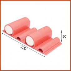 선수보호벽/Safety Wall Rubber Panel/난연고무안전리브/SFWR50 type/1㎡기준임