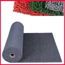에코쿠션매트 C-TYPE 외부용15mm/흙먼지유입방지 및 미끄럼방지/회색